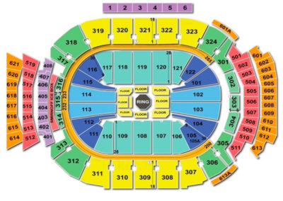 Scotiabank Arena Seating Chart UFC