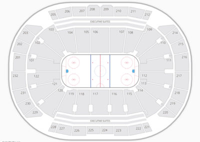 Sprint Center Seating Chart NHL