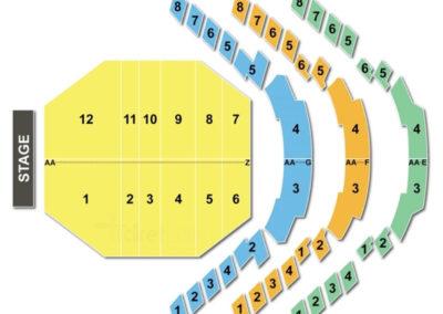 Straz Center Morsani Hall Seating Chart