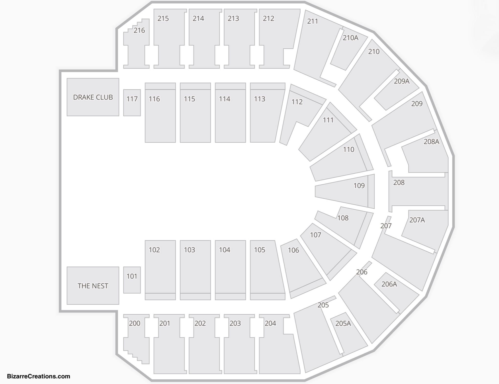 TaxSlayer Center Seating Chart Dance Performance Tour