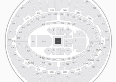 The Forum Boxing Seating Chart Inglewood