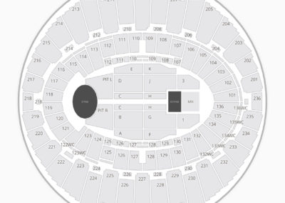 The Forum Seating Chart Concert Inglewood