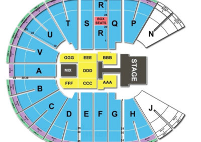 Viejas Arena Concert Seating Chart