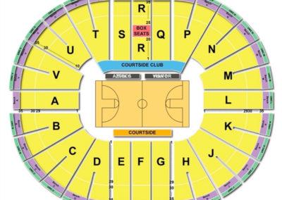 Viejas Arena Seating Chart Basketball