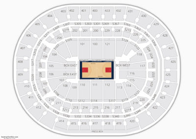 Washington Wizards Seating Chart