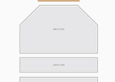 ASU Gammage Seating Chart Concert