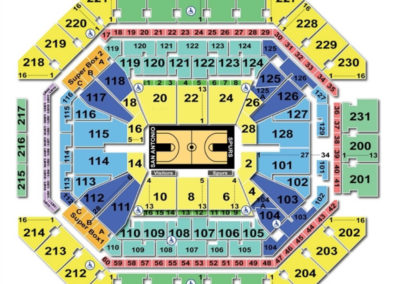AT&T Center Seating Chart Basketball