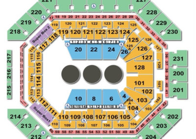 AT&T Center Seating Chart Circus