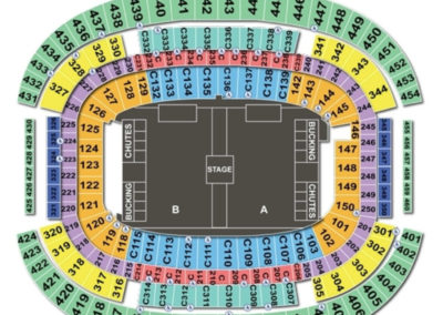 AT&T Stadium American Seating Chart Rodeo