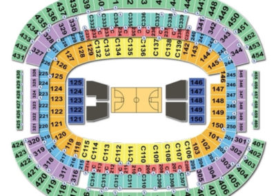 AT&T Stadium Seating Chart Basketball