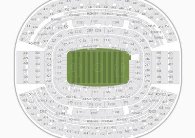 AT&T Stadium Seating Chart International Soccer