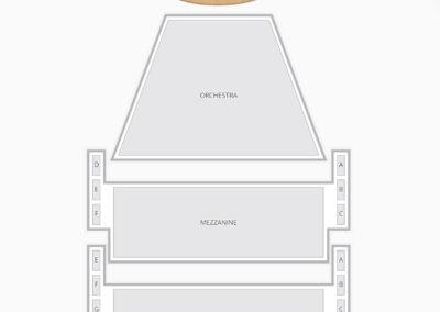 Ahmanson Theatre Seating Chart Theater