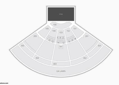 Ak-Chin Pavilion Seating Chart Concert