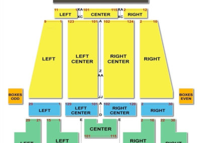 Akron Civic Theatre Seating Chart Concert