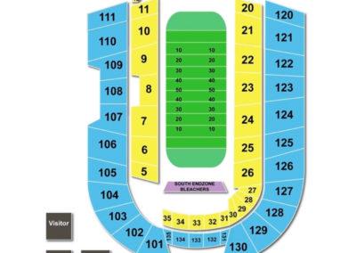 Albertsons Stadium Seating Chart Football