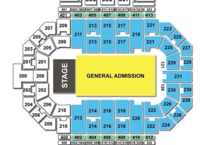 Allen County War Memorial Coliseum Concert Seating Chart