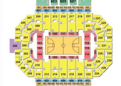 Allen County War Memorial Coliseum Seating Chart Basketball