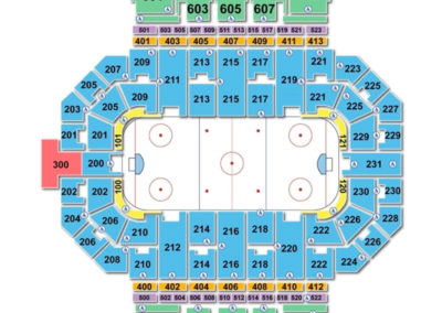 Allen County War Memorial Coliseum Seating Chart Hockey