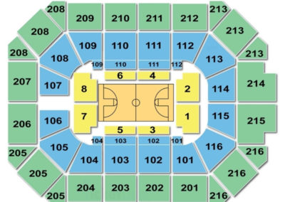 Allstate Arena Basketball Seating Chart