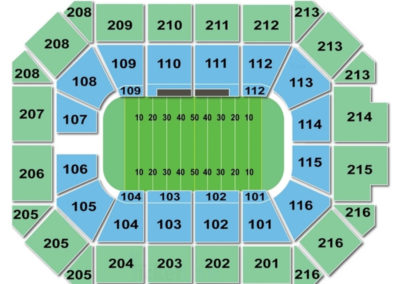 Allstate Arena Football Seating Chart