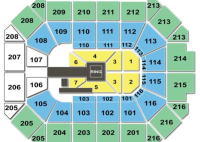 Allstate Arena Wrestling Seating Chart