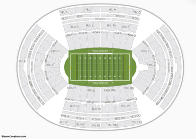 Aloha Stadium Seating Chart