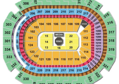 American Airlines Center Seating Chart UFC