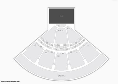 Ameris Bank Amphitheatre Seating Chart