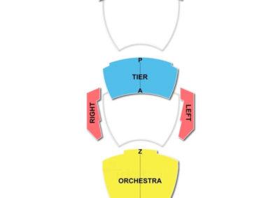 Andrew Jackson Hall TPAC Seating Chart