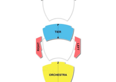 Andrew Jackson Hall Seating Chart