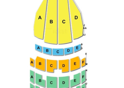 Arlene Schnitzer Concert Hall Seating Chart Oregon