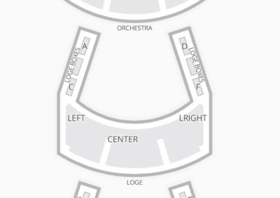 Aronoff Center for the Arts Seating Chart