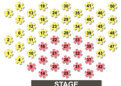 Auditorium Theatre Tables Seating Chart