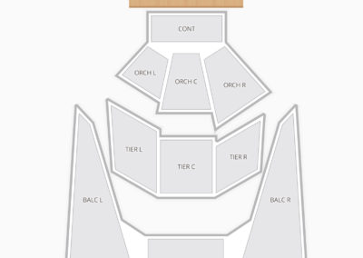 BJCC Concert Hall Seating Chart