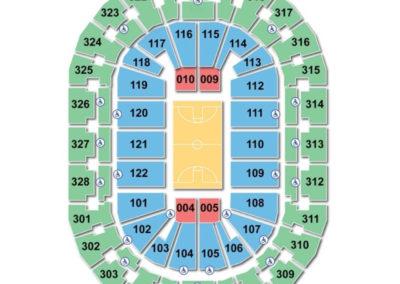 BOK Center Basketball Seating Chart