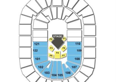 BOK Center Cirque Seating Chart