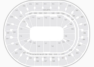 BOK Center Seating Chart