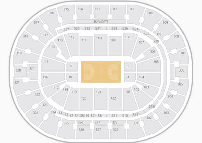 BOK Center Seating Chart Basketball