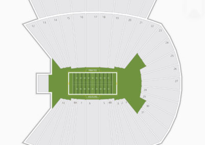 Bagwell Field at Dowdy–Ficklen Stadium Seating Chart