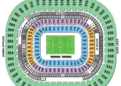 Bank of America Stadium Seating Chart Soccer