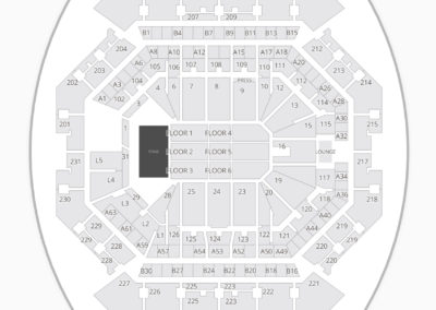 Barclays Center Concert Seating Chart