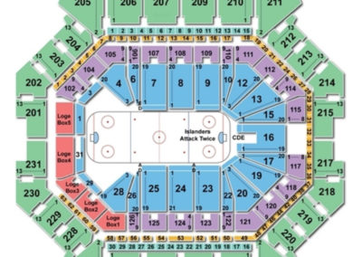 Barclays Center Seating Chart Hockey