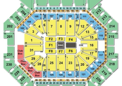 Barclays Center Seating Chart Boxing