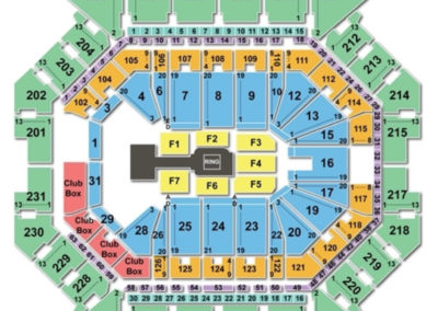Barclays Center wwe Seating Chart