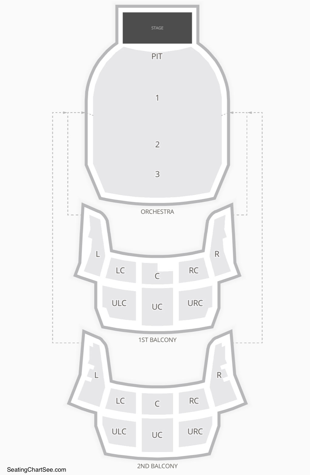 Bass Concert Hall Seating Chart