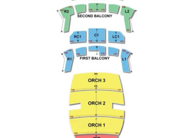 Bass Concert Hall Seating Chart Austin