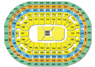 Bell Centre Boxing Seating Chart