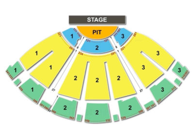 Bellco Theatre Seating Chart - Denver