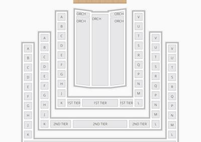Benaroya Hall Seating Chart Theater