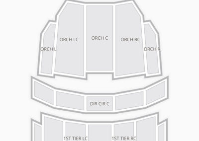 Benedum Center Seating Chart